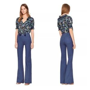 Tory Burch Pants Blue Harbor Flare Trouser NWT